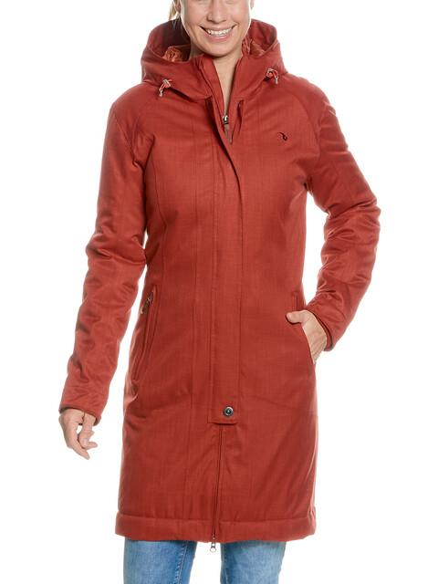 Tatonka Floy Coat Women russet red